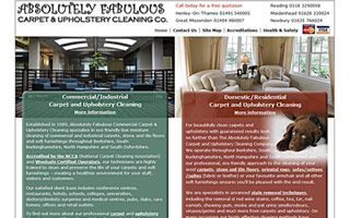 Absolutely Fabulous Carpet and Upholstery Cleaning Co screenshot